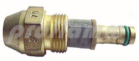 Fluidics Regeldüse 70 kg WB3 45° S1