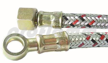 """Ölschlauch 3/8"""" x R12 x 1000 mm (Ring)"""