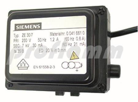 Siemens ZE 30/7 661 Zündtrafo Ersatz