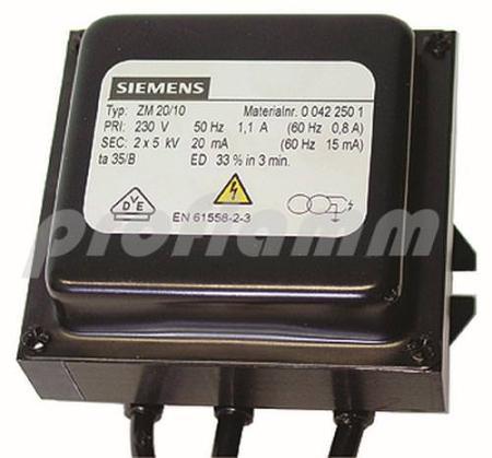 Siemens ZM 20/10 250 Zündtrafo (Ersatz MCT)